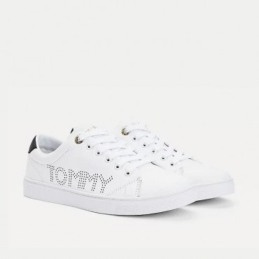 Tommy Hilfiger modelo Iconic en blanco