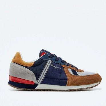 Sneaker Tinker Zero cognac de Pepe Jeans