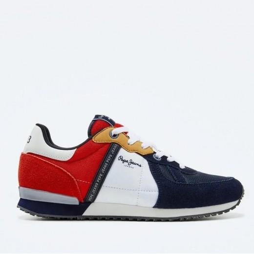 Sneaker Tinker combinado de Pepe Jeans