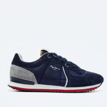Sneaker Tinker City 21 en azul de Pepe Jeans