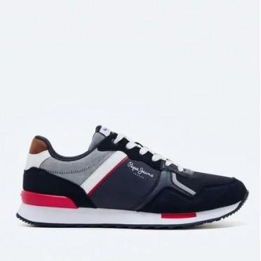 Sneaker Cross 4 Tech de Pepe Jeans en azul