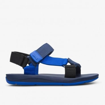 Sandalia Match de Camper en azul para hombre