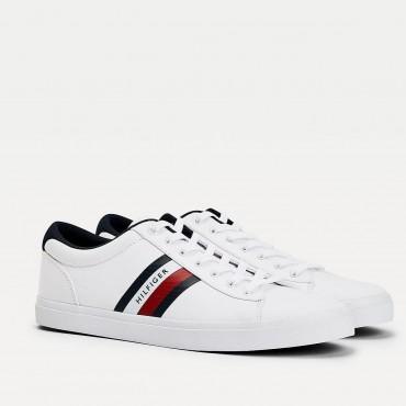 Sneaker bandera blanco de hombre de TH
